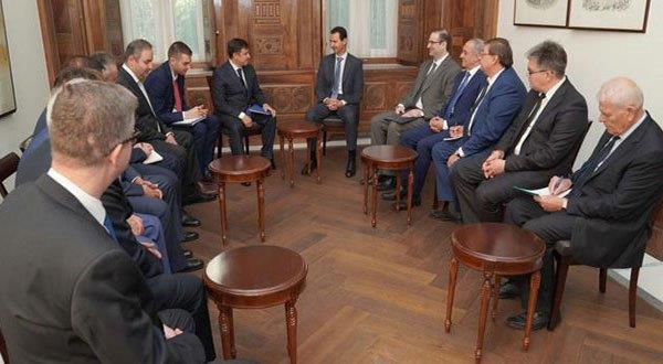 Al-Assad: Syria's Victories Paved the Way to Restarting Economy, Reconstruction