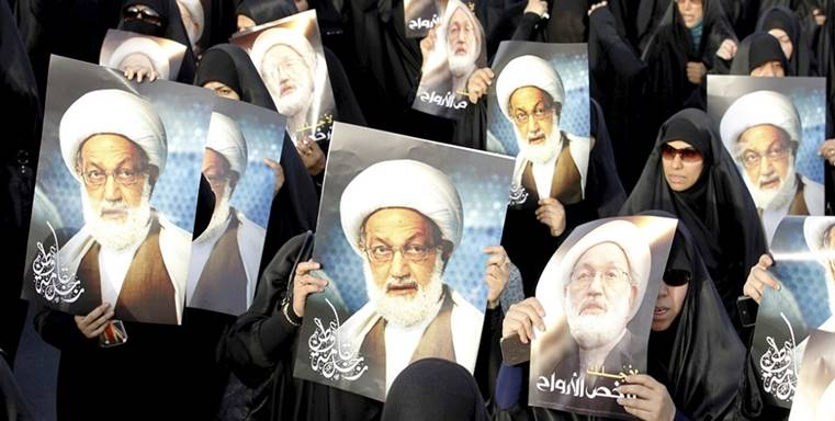 Bahraini Court Convicts Shiites' Spiritual Leader as Trump Meets King Hamad