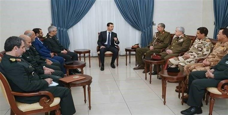 Blood of Syrians, Iranians, Iraqis 'Mixed in Battle against Terrorism': Assad