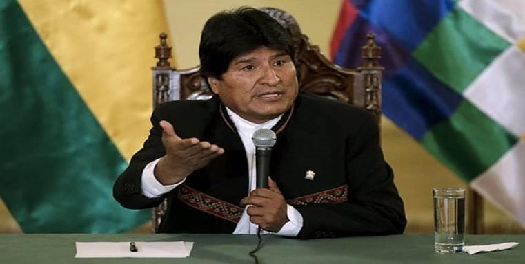 Bolivian President Blames US for Plotting Coup in Venezuela