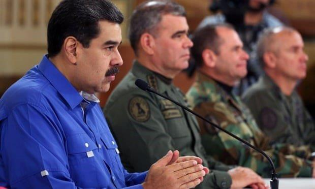 Maduro Declares Victory over Coup Plotters