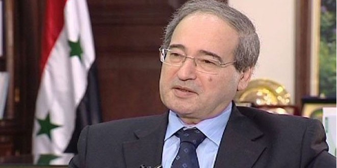 Syria regrets Western countries' stance against preventing an act of aggression