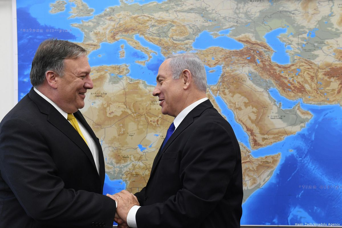 Pompeo gives Israel green light to annex land in West Bank by friendsofsyria